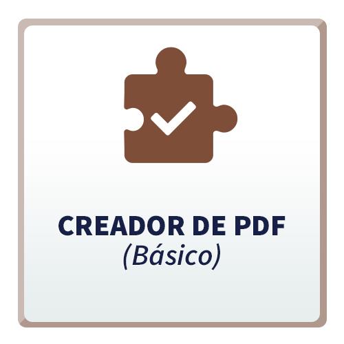 Creador de PDF (Básico) para CRM