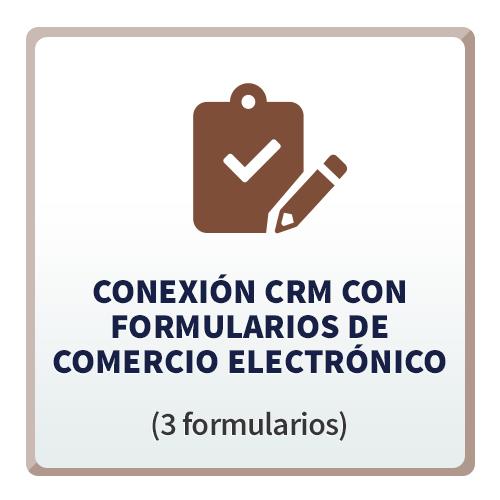 Tecno CRM Conexión con Formularios de Comercio Electrónico