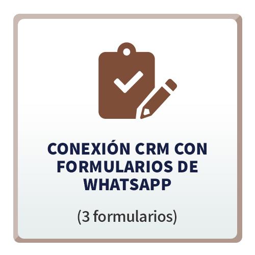 Tecno CRM Conexión con Formularios de WhatsApp