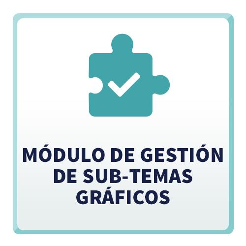 Módulo de Gestión de Sub-Temas Gráficos