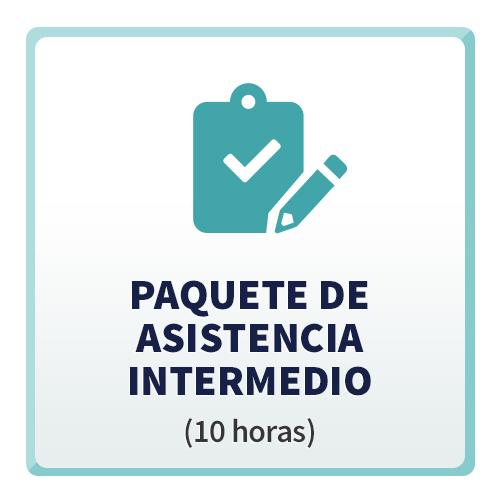 Paquete de Asistencia Intermedio (10 horas)