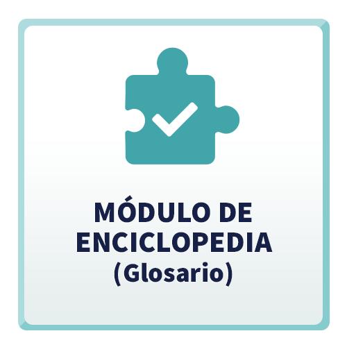 Módulo de Enciclopedia (Glosario)